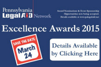 2015 PA Legal Aid Network Excellence Awards
