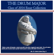 The Drum Major 2016 - Class of 2016 Essay Collection - Cover