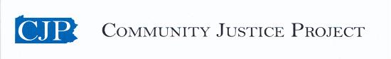 Community Justice Project logo header